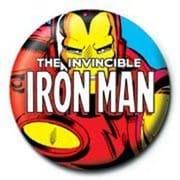 PB 25mmバッジ PB1919 MARVEL /Iron Man