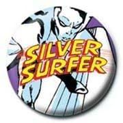 PB 25mmバッジ PB1920 MARVEL /Silver Surfer