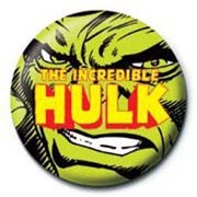 PB 25mmバッジ PB1923 MARVEL /Incredible Hulk