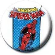 PB 25mmバッジ PB1925 MARVEL /Spider-man -retro