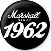 PB 25mmバッジ PB1969 MARSHALL /Since 1962