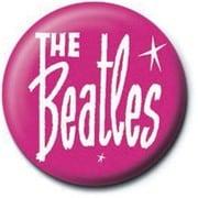 PB 25mmバッジ PB2039 THE BEATLES /Pink