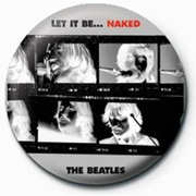 PB 25mmバッジ PB3621 THE BEATLES  /Let It Be Naked
