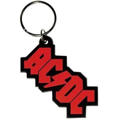 ラバーキーリング RKY016 AC/DC  /Logo