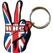 ラバーキーリング RKY060 THE WHO /Union Jack Peace