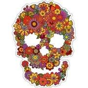 OSS-014 [防水ステッカー オイルショックデザインズ Flower Skull]