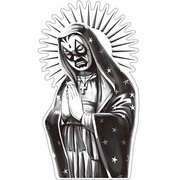 OSS-019 [防水ステッカー オイルショックデザインズ Mexican Dios]