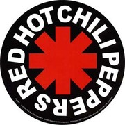 ST-597 [STステッカー RED HOT CHILI PEPERS/Logo]