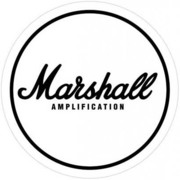 ST-648 [STステッカー MARSHALL/White Logo]
