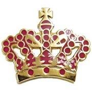 OSPピンバッジ OSP007 OilshockDesigns /Gold Crown [ピンズ]
