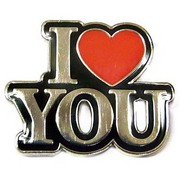 OSPピンバッジ OSP014 OilshockDesigns /I Love You [ピンズ]