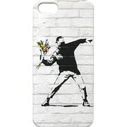 Banksy iPhone5ケース BKI-001 Banksy iPhone5 Case /Flower Bomber [W60×H125mm]