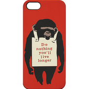 Banksy iPhone5ケース BKI-003 Banksy iPhone5 Case /Monkey Sign [W60×H125mm]