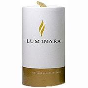 03000000B [LEDキャンドル LUMINARA(ルミナラ)ピラー3.5×5 ギフトボックス付き アイボリー]