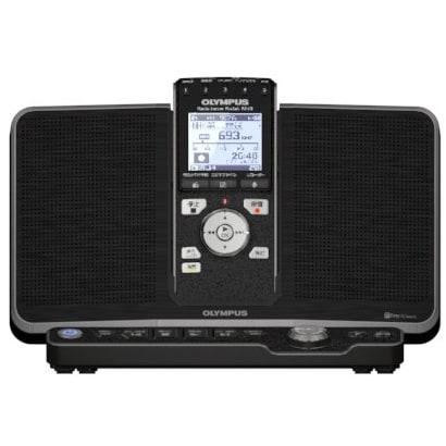 PJ-35 [ワンセグTV(音声)対応ラジオレコーダー ラジオサーバーポケットPJ-35 スピーカー付きアンテナステーション付属 ブラック]