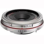 HD PENTAX-DA 40mmF2.8 Limited シルバー [HD PENTAX-DA Limitedレンズ 40mm/F2.8 ペンタックスKマウント シルバー]