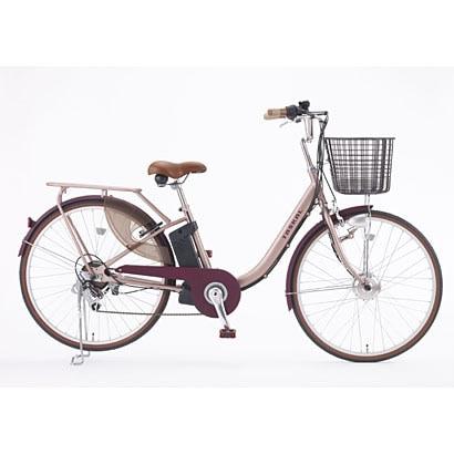 TASKAL-L-L1-BE [電動アシスト自転車 タスカルレディ 26型 外装6段変速 シャンパンピンク×ブラウン]