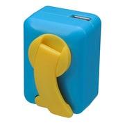GH-DYH-BL  [手回し充電器 USB出力:1ポート ブルー]