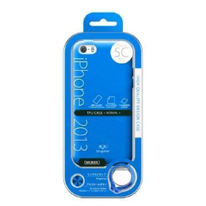MB-IP5CTNBL [iPhone 5c用 TPUケース(ノーマル) ブルー]