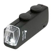 75753 [ルーペ H ポケット型顕微鏡 LEDライト付 60~100倍]