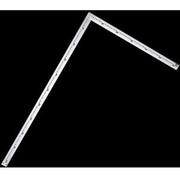 64009 [洋裁尺 シルバー 75×35cm]