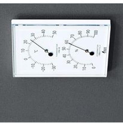70510 [温湿度計 W-1 角型 ホワイト]