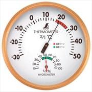 72591 [温湿度計 F 丸型 15cm]