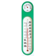 72615 [温湿度計 PCオーバル m-2 グリーン スリーブパック]