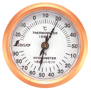 72669 [温湿度計 U-3 丸型 6.5cm]