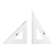 75264 [三角定規 アクリル製 30cm 2枚組]