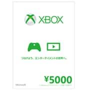 Xbox ギフトカード 5000 [プリペイド式 カード]