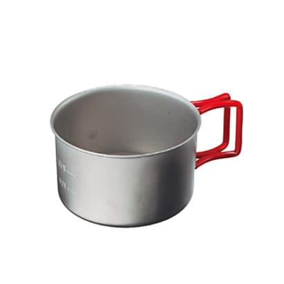 チタン カップ400FD EBY265R RED [アウトドア マグ・シェラカップ]