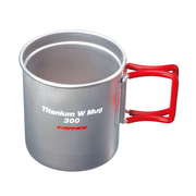 Ti Wマグカップ300FH EBY269R RED [アウトドア 調理器具]