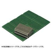 コンパクト折りたたみマット EBY462 ダークグリーン [アウトドア マット]