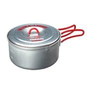 チタンウルトラライトクッカー2 ECA252R RED [アウトドア 調理器具]