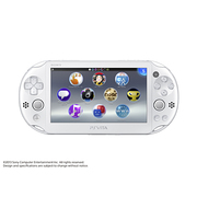 PlayStation Vita Wi-Fiモデル ホワイト [PS Vita本体 PCH-2000ZA12]