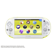 PlayStation Vita Wi-Fiモデル ライムグリーン/ホワイト [PS Vita本体 PCH-2000ZA13]
