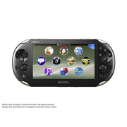 PlayStation Vita Wi-Fiモデル カーキ/ブラック [PS Vita本体 PCH-2000ZA16]