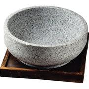 H-2709 [韓国式石焼きビビンバ鍋18cm(置台付)]