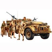 1/35 イギリス LRDGコマンドカー 北アフリカ戦線 (人形7体付き)