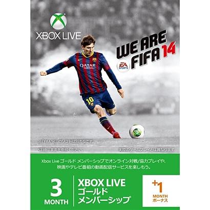 Xbox Live NEW 3+1ヶ月 [GM FIFA1452K-00152]