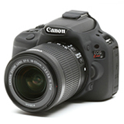 イ-ジーカバー [Canon デジタル一眼 EOSKISS X7用 ブラック]