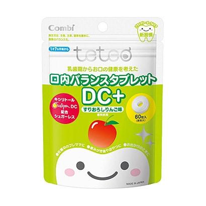 テテオ 口内バランスタブレット DC+ すりおろしりんご味 [月齢 1才7ヶ月頃~]
