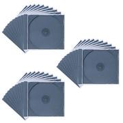 FCD-PN30BK [DVD/CDケース(1枚収納) 30枚セット ブラック]