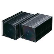 FCD-PU100MBK [DVD/CDケース(1枚収納) 100枚セット マットブラック]
