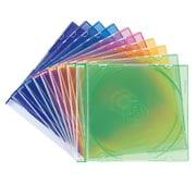 FCD-PU10MX [DVD/CDケース(1枚収納) 10枚セット 5色ミックス]