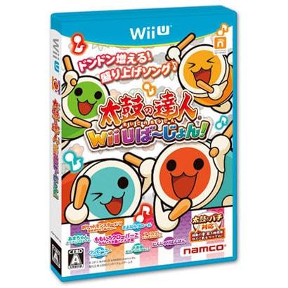 太鼓の達人 Wii Uば~じょん! ソフト単品版 [Wii Uソフト]
