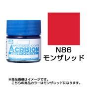 N86 [新水性カラー アクリジョン モンザレッド]