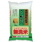 無洗米 新潟県産 こしひかり 令和元年産 5kg