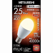 LDA6L-G-E17/D [LED電球 E17口金 電球色 400lm 密閉器具対応 調光器具対応 MILIE(ミライエ)]